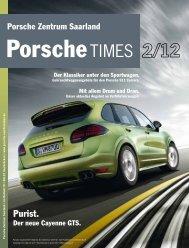 Purist. - Porsche Zentrum Saarland
