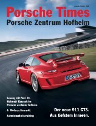 Ausgabe Frühjahr 2009 - Porsche