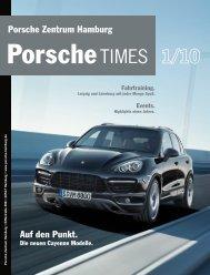 Auf den Punkt. Porsche Zentrum Hamburg