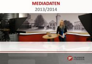 Franken Fernsehen Mediadaten