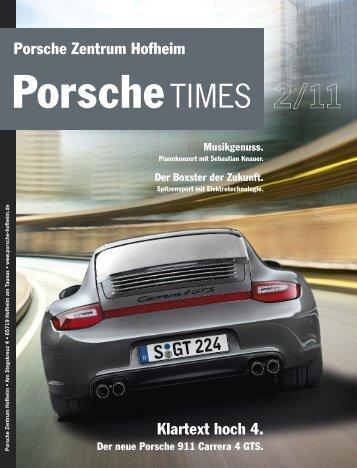 Ausgabe 2/11 - Porsche