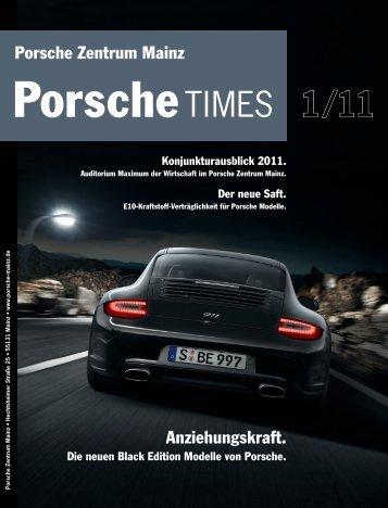 Der neue Saft. - Porsche