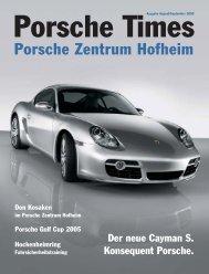 Ausgabe August/September 2005 - Porsche