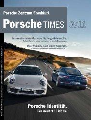 Porsche Identität. - Porsche Zentrum Frankfurt