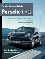 Ausgabe 1/10 - Porsche