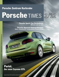 Ausgabe 2/2012 - Porsche