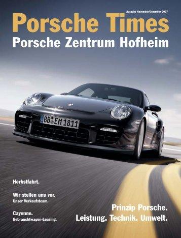 Ausgabe November/Dezember 2007 - Porsche