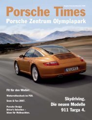Ausgabe November/Dezember 2006 Porsche Times