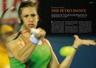 DER PETKO-DANCE - Porsche Tennis Grand Prix