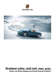 Unsere Angebote als PDF - Porsche Zentrum Frankfurt