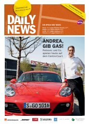 ANDREA, GIB GAS! - Porsche Tennis Grand Prix
