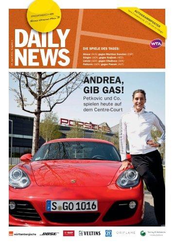 ANDREA, GIB GAS! - Porsche Tennis Grand Prix
