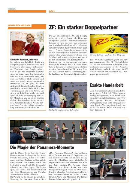 Download PDF / 5919 KB - Porsche Tennis Grand Prix