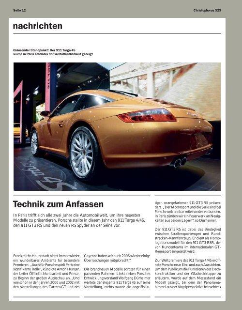 Download PDF / 137 KB - Porsche