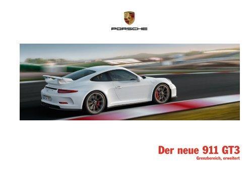 Der neue 911 GT3, Modellkatalog (PDF) - Porsche