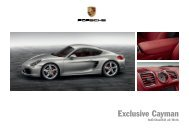 Exclusive Cayman (PDF) - Porsche
