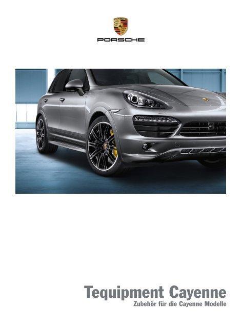 Tequipment Cayenne (PDF) - Porsche