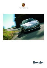 Das Konzept Boxster - Porsche