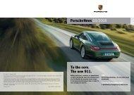To the core. The new 911. - Porsche