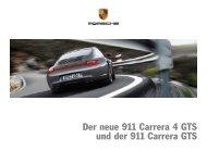 Der neue 911 Carrera 4 GTS und der 911 Carrera GTS - Porsche