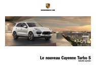 Le nouveau Cayenne Turbo S - Porsche