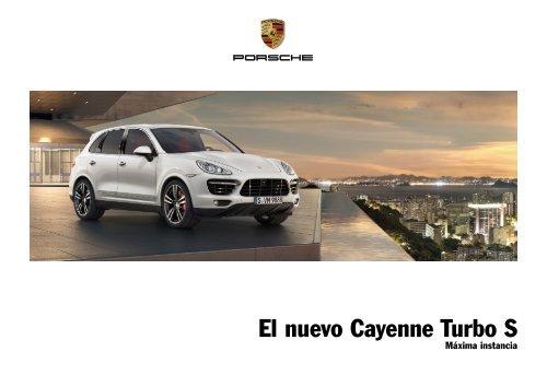 El nuevo Cayenne Turbo S - Porsche