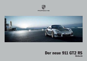 Der neue 911 GT2 RS - Porsche