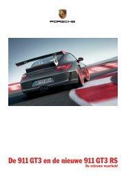 De 911 GT3 en de nieuwe 911 GT3 RS - Porsche