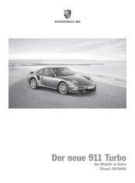 Der neue 911 Turbo - Porsche