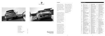 Cayenne - Porsche