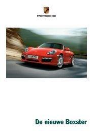 De nieuwe Boxster - Porsche