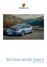911 Turbo und 911 Turbo S - Porsche