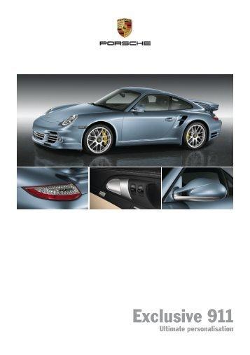Exclusive 911   Porsche