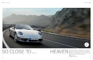 Celebrating the new 911 Cabriolet: driving with the top ... - Porsche