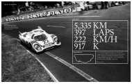 A record-setting victory at Le Mans by a Porsche 917 is approaching ...