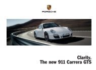 Clarity. The new 911 Carrera GTS - Porsche