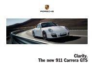 Clarity. The new 911 Carrera GTS - Porsche
