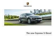 The new Cayenne S Diesel - Porsche