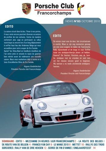News 85 - Porsche Club CMS