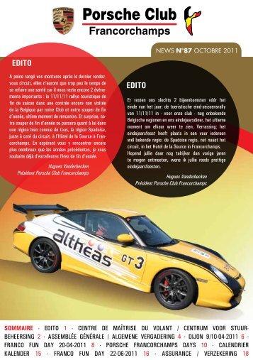 News 87 - Porsche Club CMS