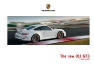 The new 911 GT3 - Porsche