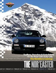 February 2011 - Porsche Club of America – Northeast Region