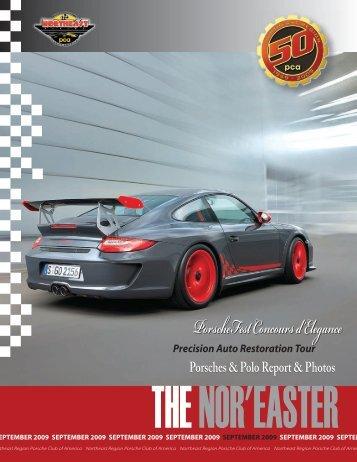 September 2009 - Porsche Club of America – Northeast Region