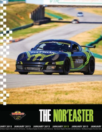 January 2013 - Porsche Club of America – Northeast Region