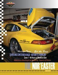 May 2007 - Porsche Club of America – Northeast Region