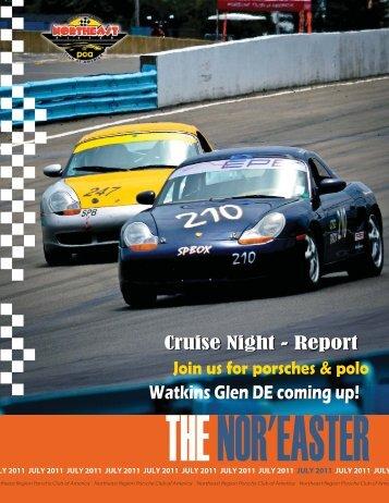 July 2011 - Porsche Club of America – Northeast Region
