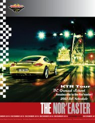 December - Porsche Club of America – Northeast Region