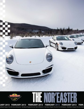 February 2013 - Porsche Club of America – Northeast Region