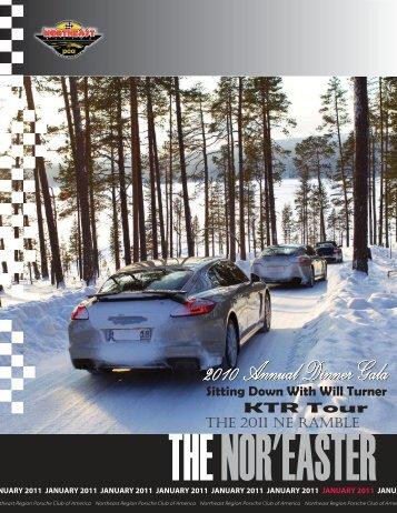 January 2011 - Porsche Club of America – Northeast Region