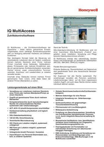 IQ MultiAccess - Heinz Port GmbH